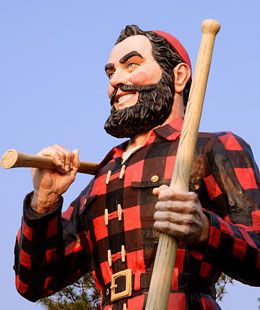 Picture of How to compete in a Lumberjack competition.