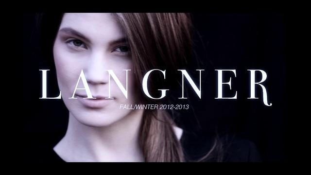 Langner Fall  Winter 2012 by Bien. langner-fashion.com