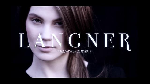 Langner Fall  Winter 2012 by Bien. langner-fashion.com