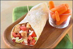 Bacon Chicken Ranch Burrito for only 325 calories, compared to the Del Taco version at over 1100