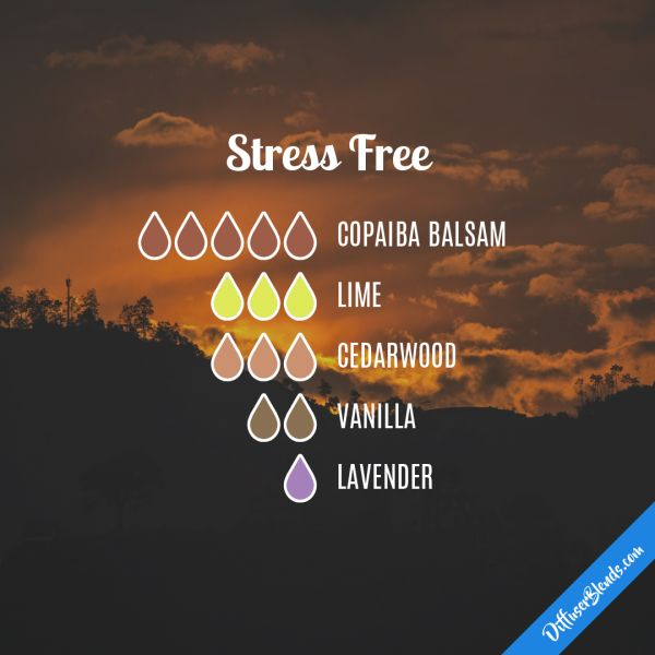 Stress Free - Essential Oil Diffuser Blend