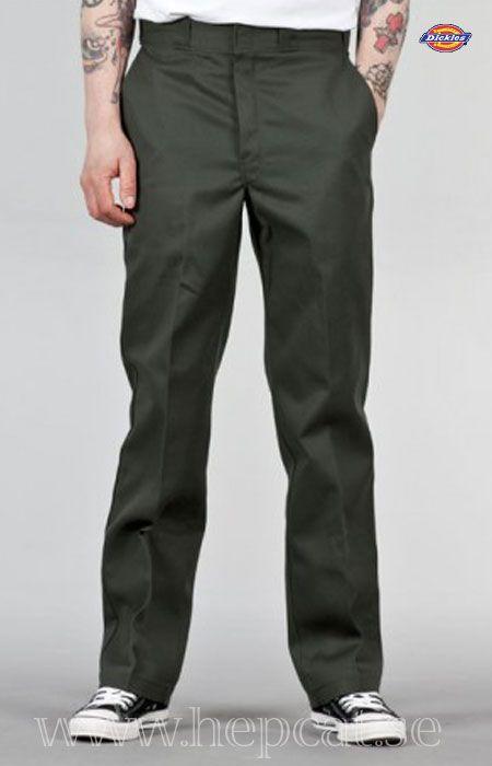 Dickies - O-Dog 874™ Traditional Work Pant ''Olive'' - G work dark green chore pants.