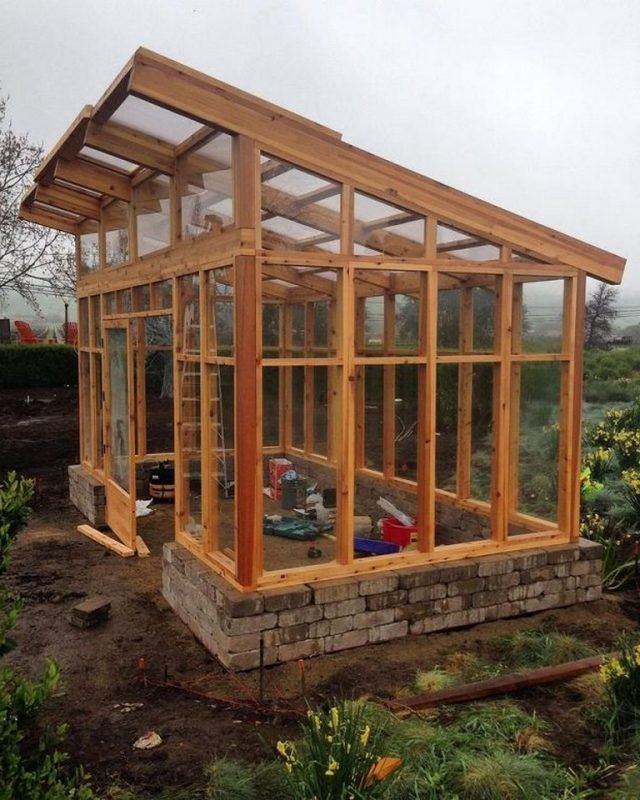 25 Admirable And Budget Friendly Plans To Build A Greenhouse Page 6 Of 27 In 2020 Modern Greenhouses Greenhouse Construction Home Greenhouse
