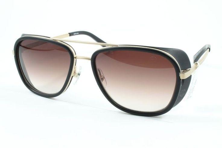 Matsuda Sunglasses M3023 Matte Gold Matte Black 52 16 145   eBay