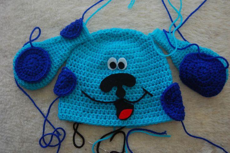 I M Hooked Blues Clues Hat Crochet Children Hats Free