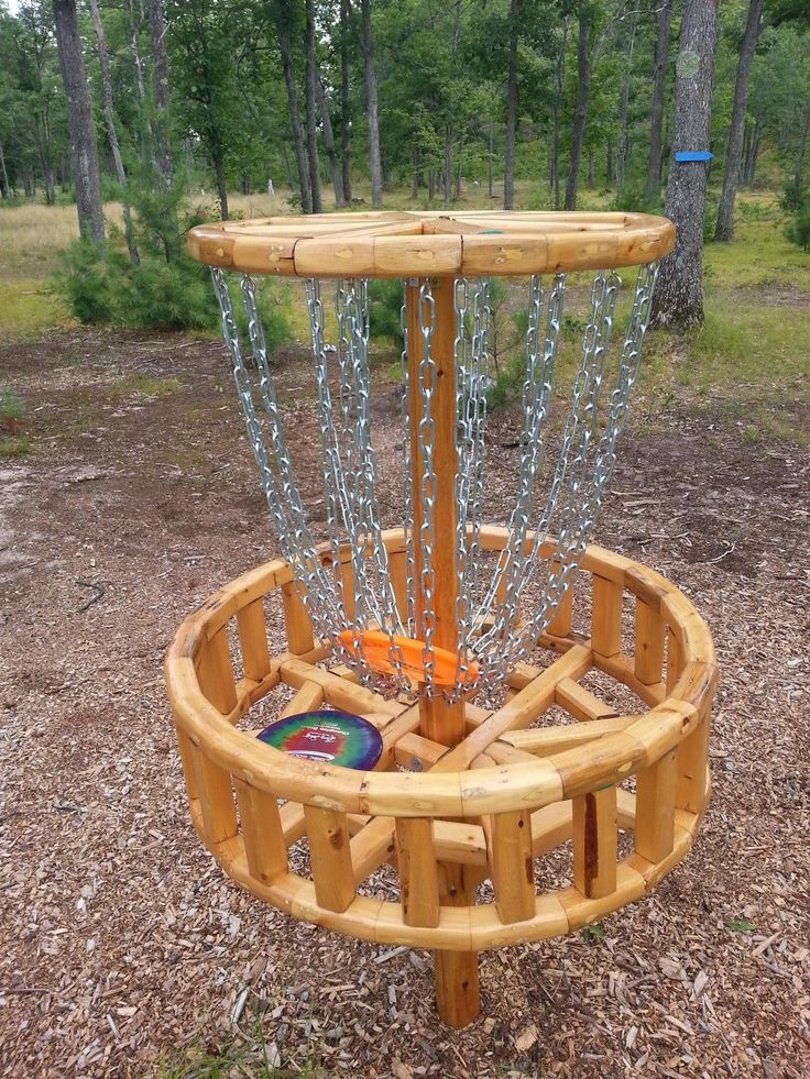 disc golf targets homemade - Google Search