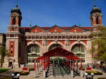 Ellis Island.  The statue of liberty was cool...but Ellis Island was moving....