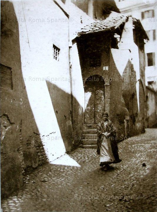 Roma - Vicolo della Luce 1890 #TuscanyAgriturismoGiratola
