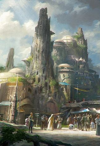 This is definitely the Star Wars land you've been dreaming of.