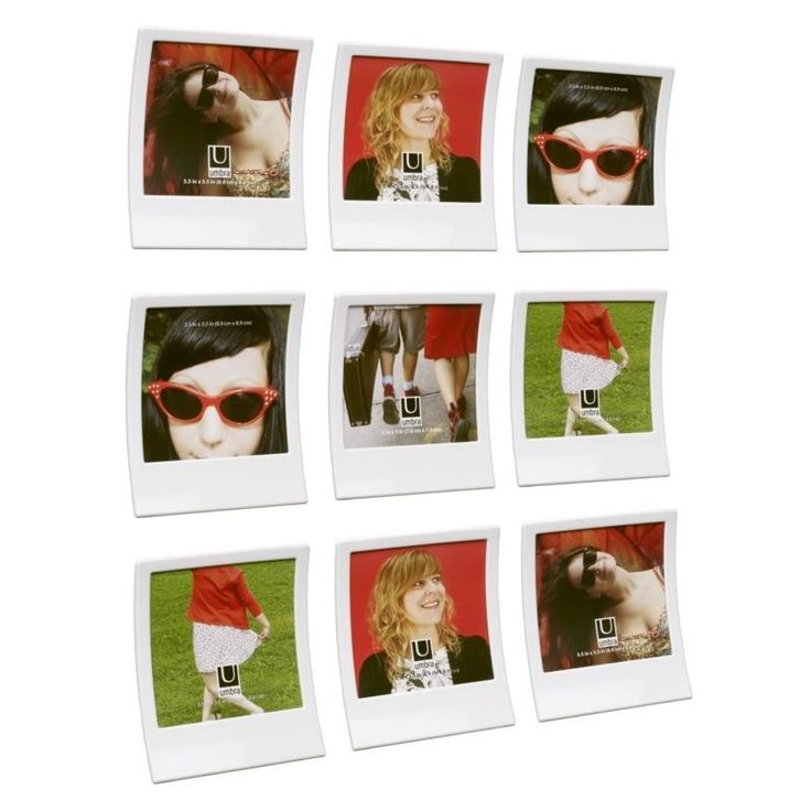 these fabulously fun and funky wall frames are the umbra snap frames