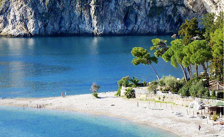 Capo Sant'andrea, Elba, Italy