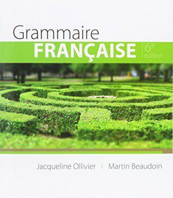 Grammaire Francaise (World Languages) PDF