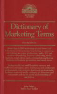 More than 4,000 marketing-related terms and definitions cover a wide array of topics. Among them are print production, radio, TV, and outdoor advertising, internet marketing, direct marketing, market research and testing, pricing, marketing legislation, and much more.