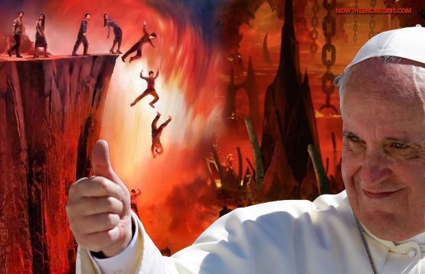 Pope Francis Tells Followers 'Don't Try To Convert' Lost People - Now The End Begins