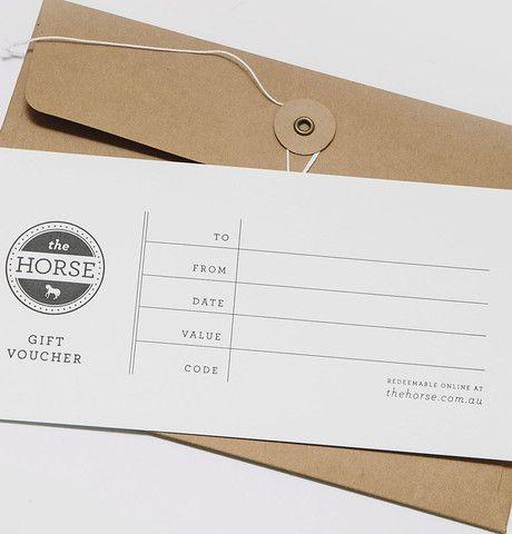 Gift Voucher - Design