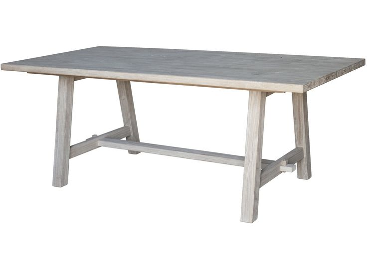 A Whitewashed Finish The Ocean Grove Dining Table Is An Excellent Choice For
