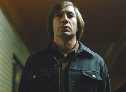Whilst physically Helen and Anton Chigurh from No Country for Old Men share no similarities, I think that their characters are quite similar in a number of ways. They both share a cold detachment from what they are doing and don't appear to be guilty (at least at first for Helen). However for Chigurh his crimes are motivated by nihilism, whereas Helen's actions, however wrong, are brought about by an initially well intentioned idea.