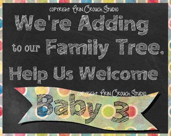 Best 25 Announce third baby ideas – Expecting Baby Announcement