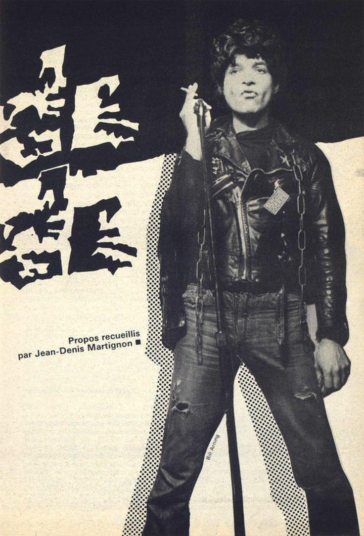 Suicide alan vega feeling magazine 1978
