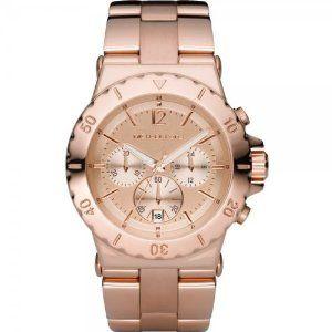 My new watch! Superexcited! Michael Kors - MK5314 - Montre Homme - Quartz Analogique - Chronographe - Bracelet en Acier Inoxydable Doré