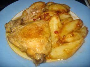 Κοτόπουλο, Μοσχάρι ή Χοιρινό Ψητό της Κατσαρόλας ή Λεμονάτο (ψητό κατσαρόλας) ~ Οι συνταγές της μαμάς μου