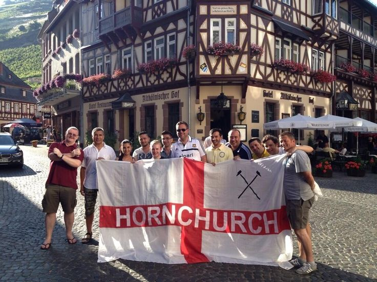Hornchurch Hammers on tour 2013 Germany