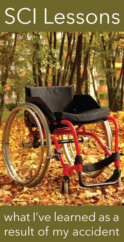 I've learned a lot about myself as a result of my accident and not all of it has been pleasant // http://blog.easystand.com/2014/09/sci-lessons/ #SpinalCordInjury