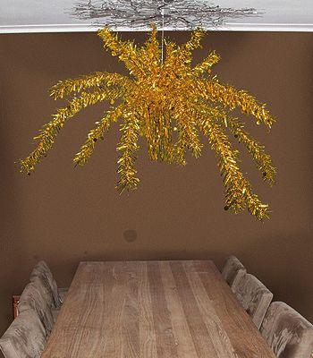 Plafond versiering gouden palm 9,95