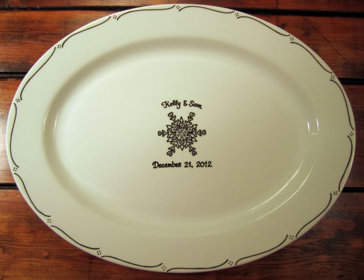 Hand Painted Signature Platter Is A Great Alternative