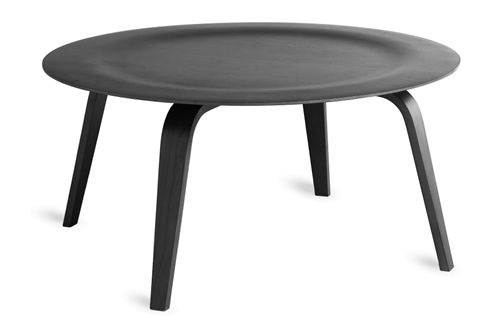 Eames coffee table in black