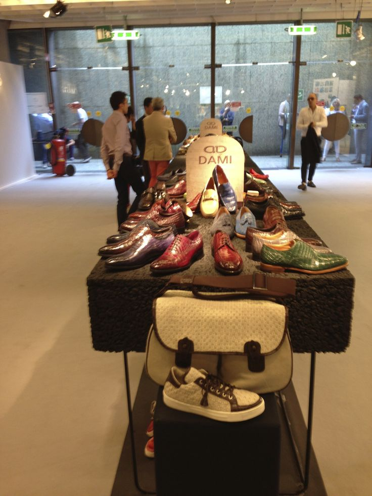 "Dami collection at #Pitti Uomo in #Florence. The spring/summer 2014 collection is divided into three different styles: Classical lace-up and buckle #shoes, #sneakers ""Vintage"" and ""Trend"", #loafers and #sandals.   La collezione Dami a #Pitti Uomo.  La collezione primavera / estate 2014 è suddivisa in tre tipologie di prodotto: Classiche stringate e con fibbia, #Sneakers ""Vintage"" e ""Trend"", #Mocassini e #Sandali.  #crocodileshoes #menshoes 靴"