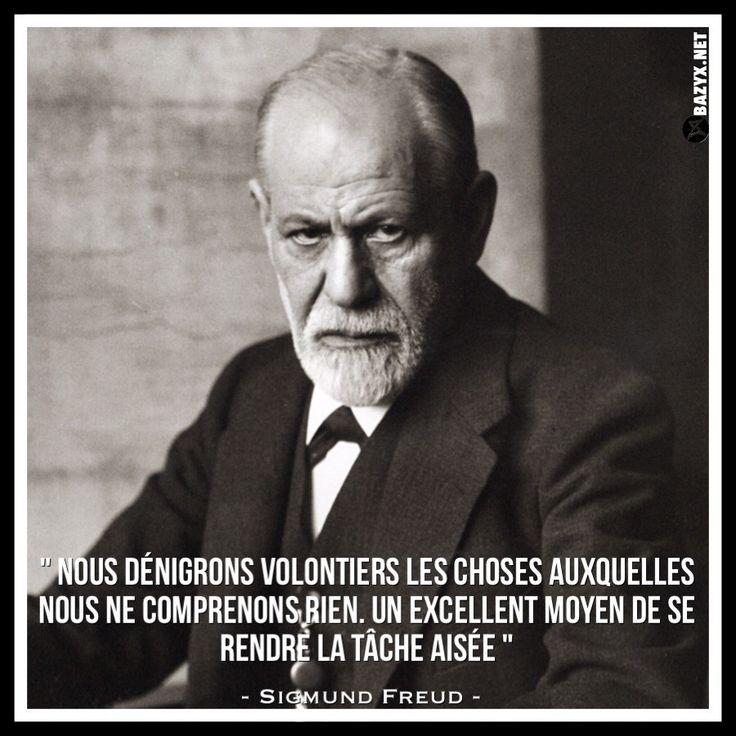 Citaten Freud : Les meilleures idées de la catégorie citations freud