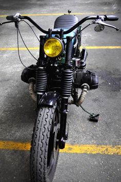 """BMW R100 /7 """"GREEN HORNET"""" by BLITZ MOTORCYCLES"""