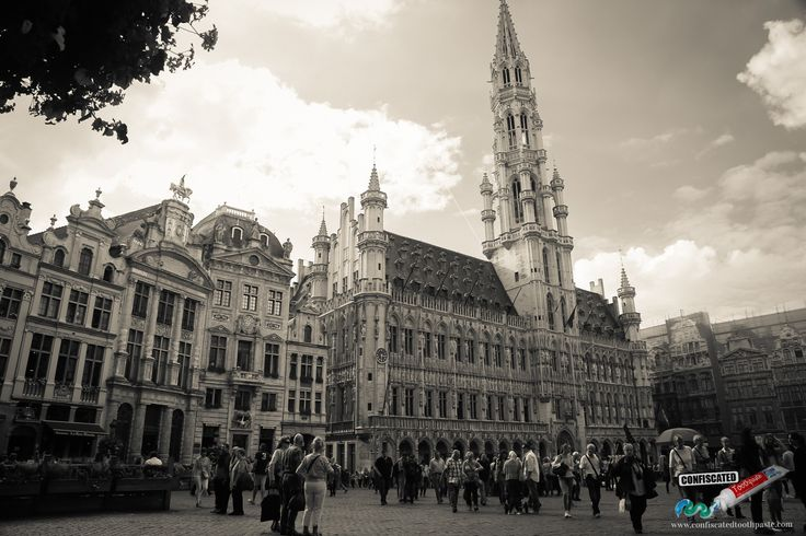 Brussels Grand Place. A Roadtrip Through The Netherlands and Belgium Part 2: Bruges, Ghent and Brussels   --> http://www.confiscatedtoothpaste.com/roadtrip-netherlands-belgium-part-1-amsterdam-haarlem-hague-zeeland/