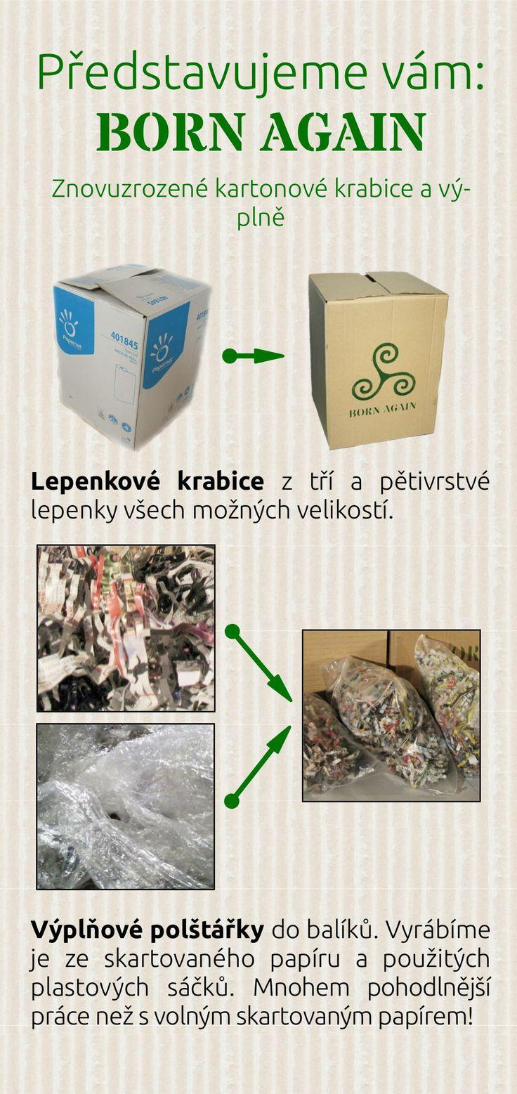 Recyklovaný krabice