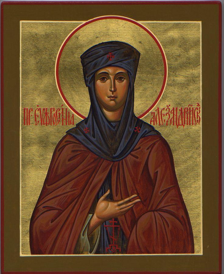 "https://flic.kr/p/a7Gzqa | St. Euphrosyne of Alexandria | 8""x10"". Commissioned by St. Vladimir Russian Orthodox Church, Ann Arbor, MI."