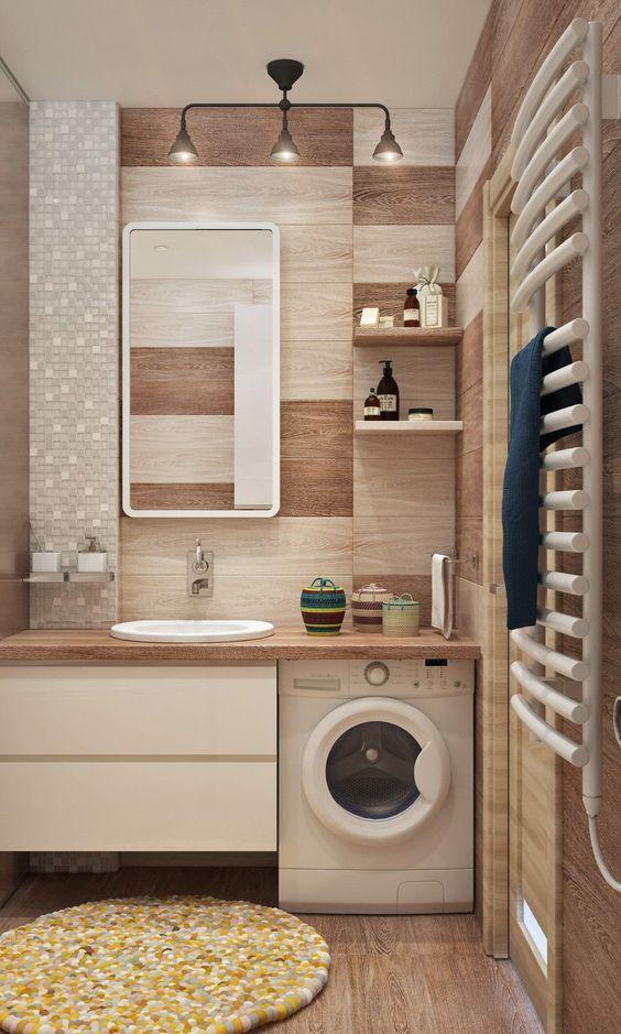 Mobili Per Nascondere Lavatrice In Bagno.Come Nascondere Una Lavatrice In Bagno Guida Con Foto Bagno Con