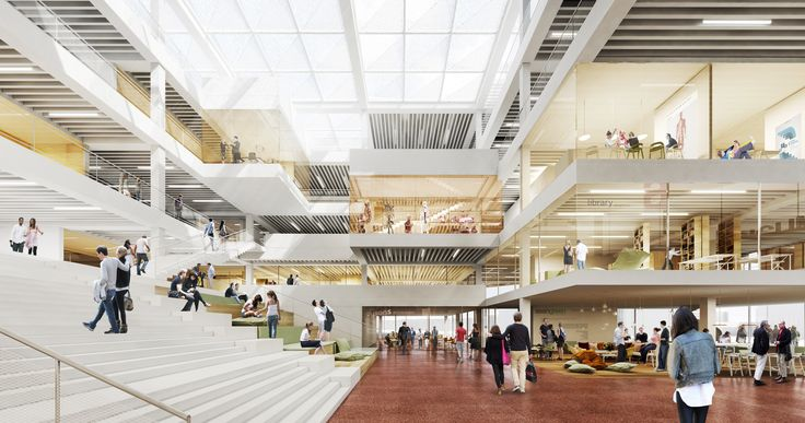 Image 10 of 12 from gallery of Henning Larsen Architects Wins Competition to Design a New Forum at Lund University. Photograph by Henning Larsen Architects