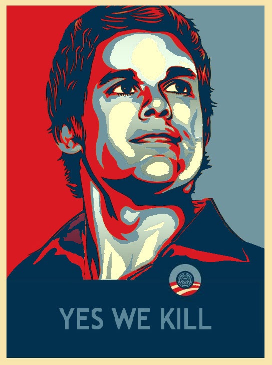 Obama Style Poster - Dexter