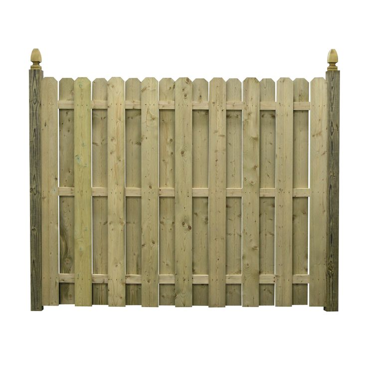 Dog Ear Fence Panels Zoom In 6 Ft X 8 Ft Spruce Dog
