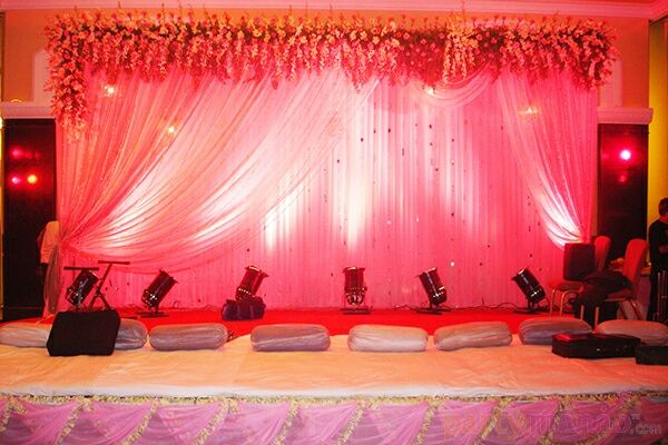 Indoor wedding decor 1 package includes stage and for Indoor stage decoration