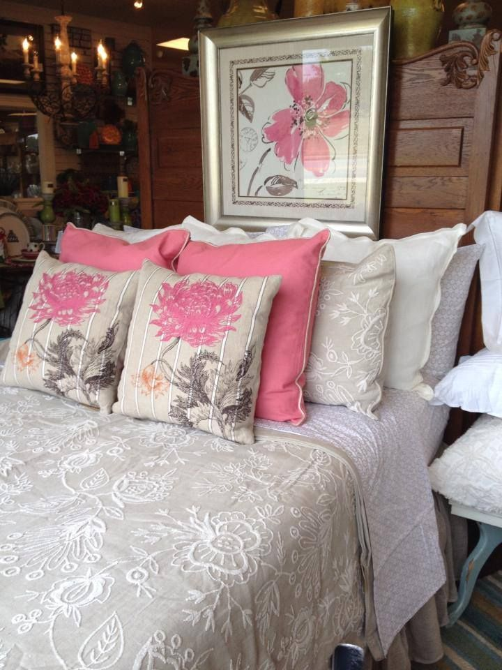 pine cone hill bedding and villa home pillows what a great combo at walker boutique - Pine Cone Hill Bedding
