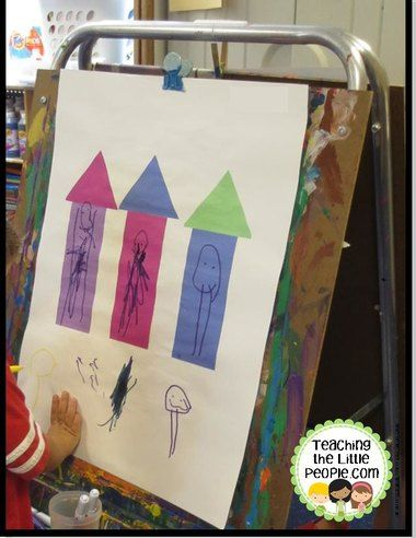 Family Theme Activity For Younger Group Alternative To The Napping House