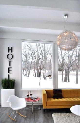 Get the look : Entrelace Modern Hanging Chandelier | lighting for Scandinavian Chic room