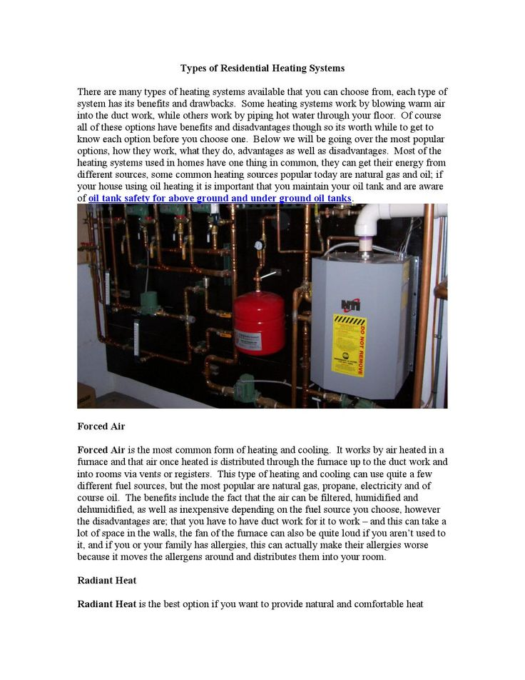 15 best home heating and cooling images on pinterest air for Best type of heating system