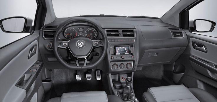 Volkswagen Crossfox Interior VW Black Pedals Racing