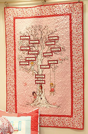 I would love to do this for Grace and all of my other kids! what a rad family tree idea.