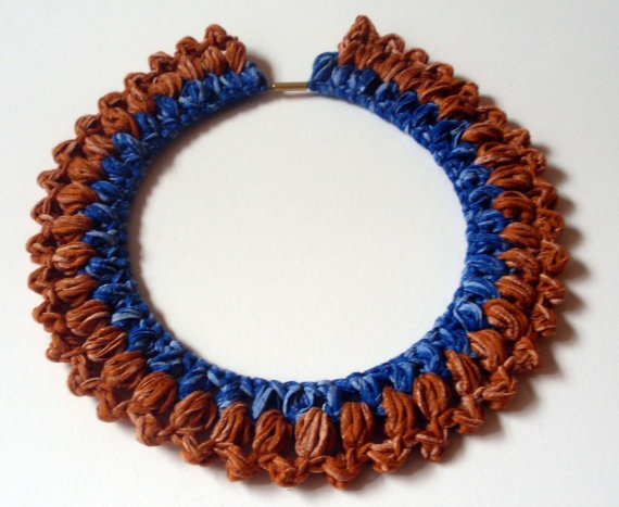 Crochet! crochet! necklace