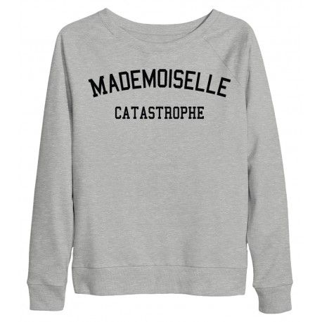 SWEAT MADEMOISELLE CATASTROPHE