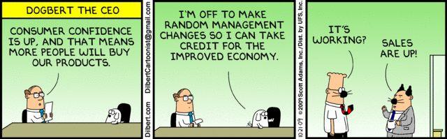 #FridayFunnies #JustForLaughs Thank you Daily Dilbert https://twitter.com/Future_CEOs #Leadership #FutureCEOs #Business #Management